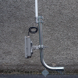 Heavy Duty J Pole Antenna Mounting Bracket